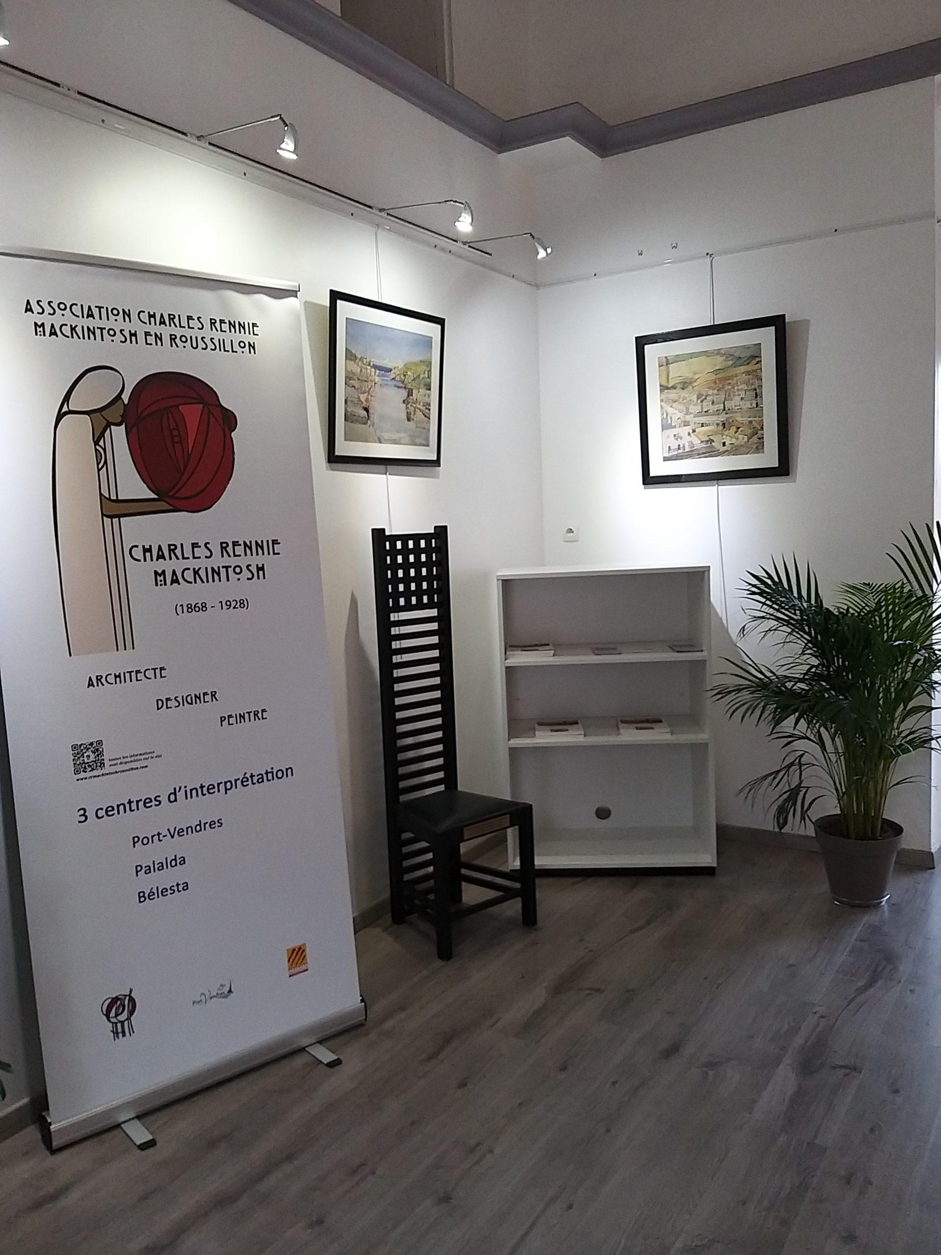 Un espace dédié à CR Mackintosh dans le cadre des micro-folies à Port-Vendres