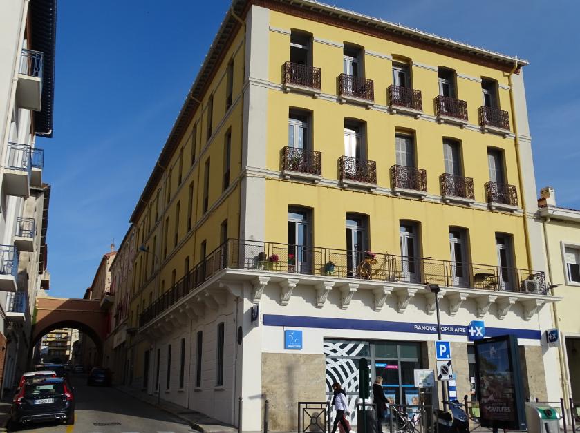 immeuble vue angle Quai Pierre Forga et rue Jules Ferry FT 22042021