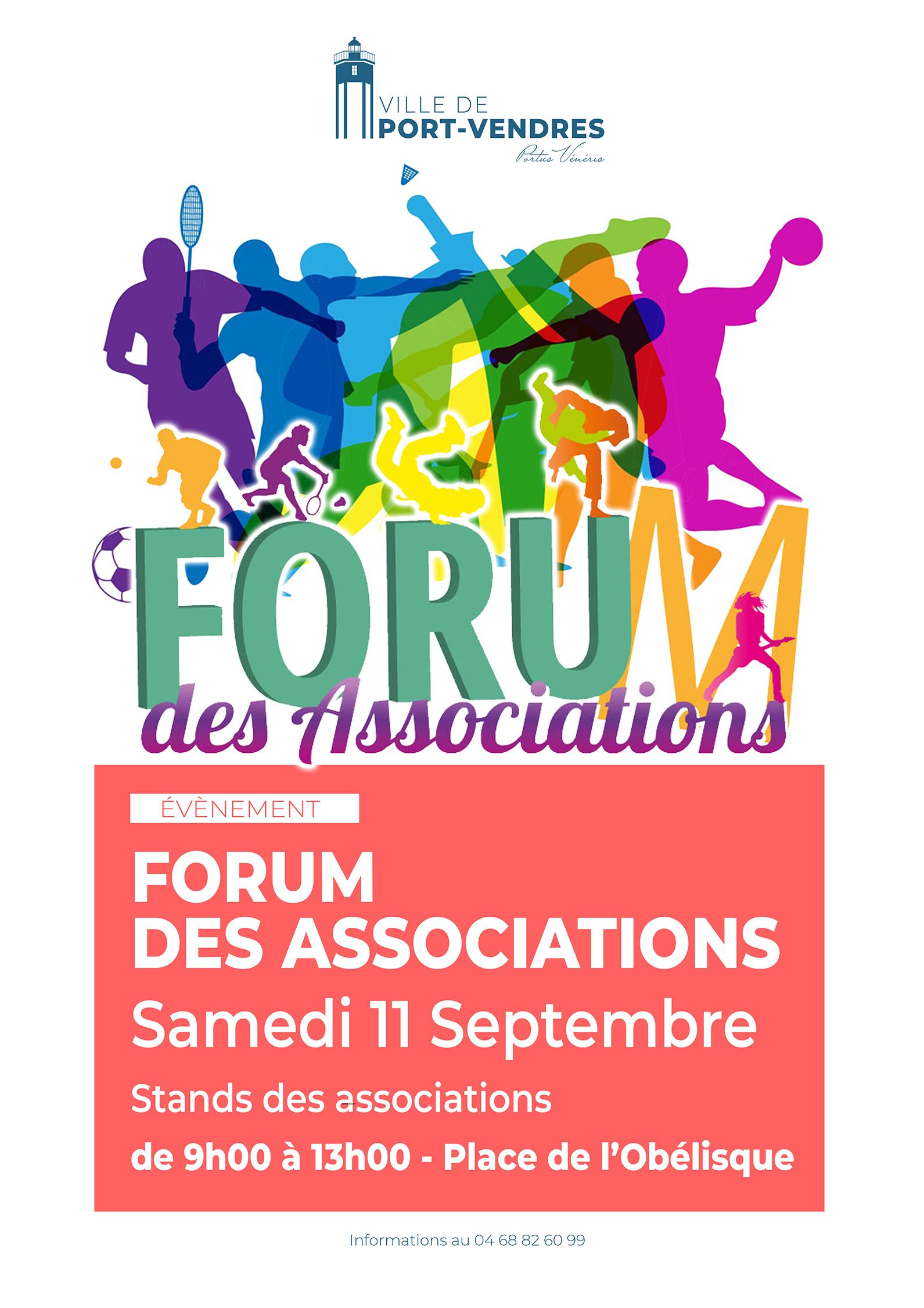 Affiche forum des associations 11092021