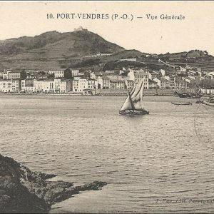 Vue générale de Port-Vendres