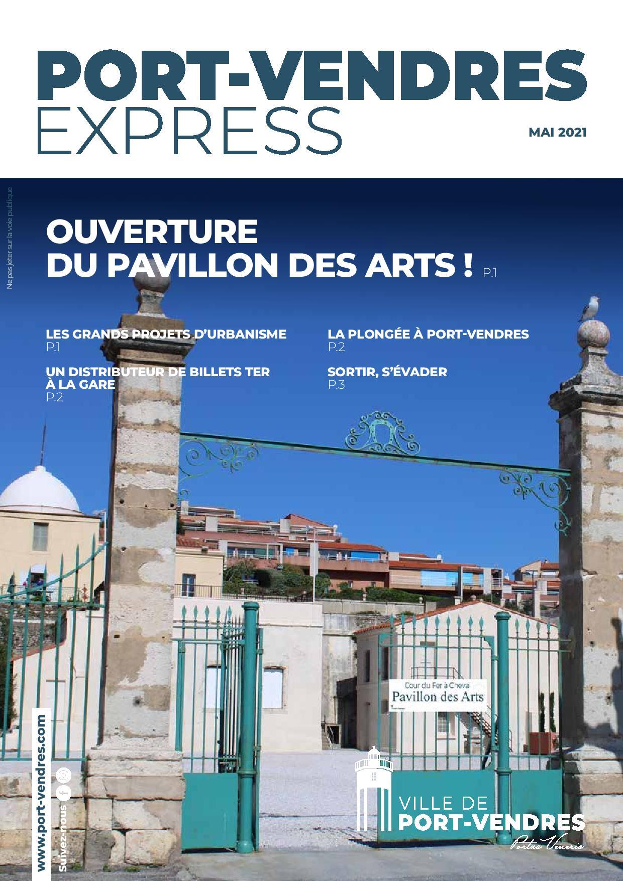 Port-Vendres EXPRESS de Mai 2021 parle de l' A.C.R.M.R